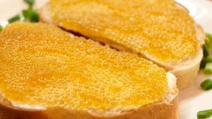 Бутербродики з ікрою щуки