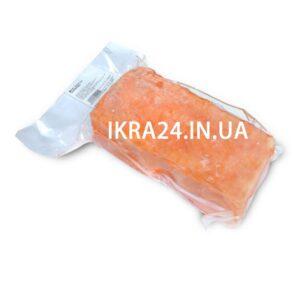 Кусочки лосося полосками в вакуумной упаковке б/ш с/м (до 1 кг)
