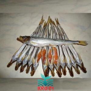 Корюшка Зубатка 25+ (Далекосхідна) в'ялена риба